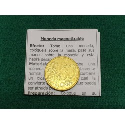 Magnetizable 50 cents euro...