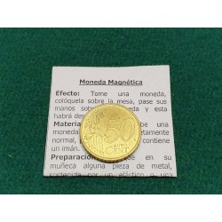 magnetic 50 cents euro coin