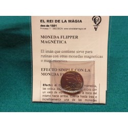 flipper coin (magnetic) 0,5€